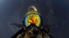 Selfie de un piloto de F-16 turco