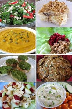 A Complete Raw Vegan Thanksgiving or Fall/Winter Holiday Menu - From Raw Appetizers to Dessert