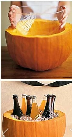 Pumpkin Beverage Holder