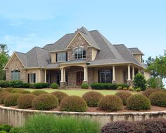 Luxury House Plan in Two Sizes - 24356TW | European, Southern, Traditional, Photo Gallery, 1st Floor Master Suite, Butler Walk-in Pantry, CAD Available, Den-Office-Library-Study, Media-Game-Home Theater, PDF, Wrap Around Porch, Corner Lot | Architectural Designs