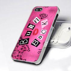 CDP 0756 Mean Girls Burn Book - Design for iPhone 5 case