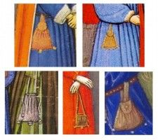 Purse and Bag in the middle Age
