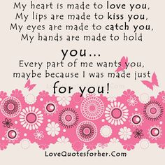 Make Them Love You! Cute Romantic Quotes & Love Quotes For Him Love Quotes For Her, Motivational Quotes For Love, Romantic Love Quotes, Love Yourself Quotes, Love Poems, Me Quotes, Romantic Poems, Crush Quotes, Status Quotes