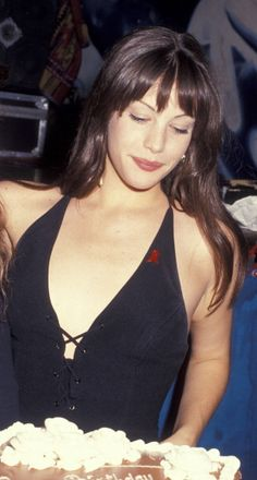 Liv Tyler in the 90's - Liv at her 16th birthday party - June 30, 1993.