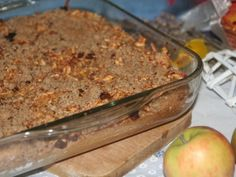 Detail receptu - Kynutý jablkový koláč