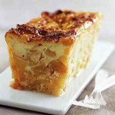 Cr pe paisse aux pommes pour la chandeleur recette de - Tf1 cuisine laurent mariotte moelleux aux pommes ...