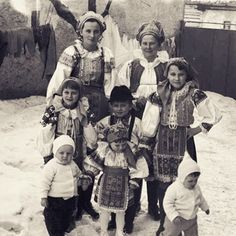 Horehronie, Slovakia Folk Costume, Costumes, Heart Of Europe, Maria Sharapova, Folklore, Old Photos, Nostalgia, The Past, Culture