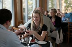 Enjoy a glass of wine from our carefully selected list while Chef Michael Henson prepares your dinner. Lakeside Dining, Just For You, Restaurant, Wine, Glass, Drinkware, Diner Restaurant, Supper Club, Dining Room