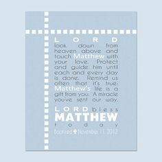 Catholic wall art baptism gift for goddaughter godchild gifts boys prayer printable sign personalized with childs name great for a baby gift baptism gift kids bedroom or nursery negle Image collections