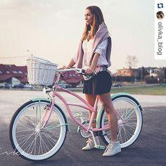 Perfecto look y perfecta bici  Os gusta??? Bicicleta MIGELLA disponible en…