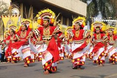 Bukidnon celebrates the annual Kaamulan with a street dancing competition in Malaybalay City