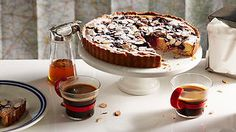 Cherry and almond tart | French recipes | SBS Food