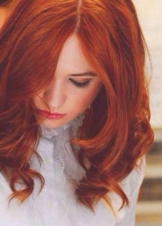 Red hair... I want!