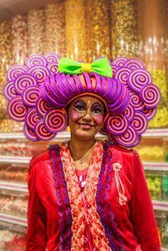 Foampruik / foamwig / pruik / wig made of foam from FollyFoam.nl Great for carnaval, fasching, cosplay, theater, dragqueen