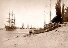 Signalling Station Suez Canal  c 1880