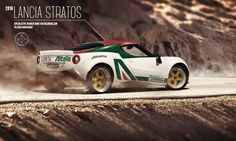 Nuova Lancia Stratos: se fosse così?