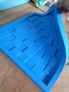 molde forma silicone p fazer placas de gesso em 3d mosaico 3d Tiles, Precast Concrete, 3d Wall Panels, Decoration, Silicone Molds, Interior Architecture, Outdoor Decor, Modern, Fabric
