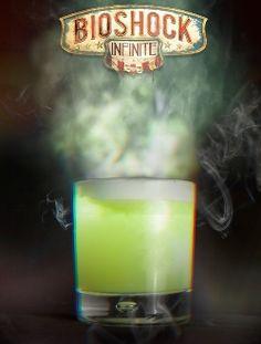 Video Game Drinks/Cocktails via @Houston Press