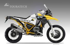 "TOURATECH ""MIRAGE"" CONCEPT on Behance"