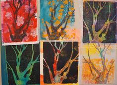 Ginger Wilson - Making stencils from photos for Gelli printing