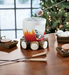 This would be SO much fun to have at a party... or really for anything, who doesn't love Smore's?! Also a great Christmas gift!
