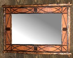 Birch Bark Frames & Mirrors - Twig, barnboard and rustic frames
