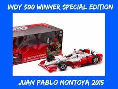 Sold Out Juan Pablo Montoya 1 18 Indy 500 Winner Car by Greenlight IndyCar | eBay