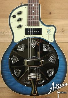 National Resolectric Biscayne Blue with A Lollar P90