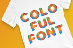 Colorful is a colorful font with a dynamic feel. Get inspired by its unique charm, and turn any design idea...