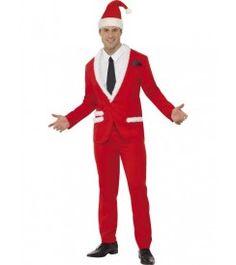 Her er en super fed cool julemand. Måske ikke det bedste kostume til at underholde børnene med juleaften.  Men hvad med at bruge dette kostume til julefrokosten eller til den unge glade fyr, som gerne vil være lidt kæk i julen.