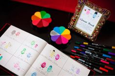 unique wedding guest book ideas | thumb print guest book... | Wedding Ideas