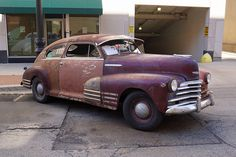 1948 Chevrolet Fleetline Aerosedan of Chevy, Chevrolet, Junk Yard, Rusty Cars, Live Rock, Barn Finds, Rat Rods, Car Car, Good Old