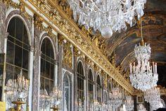 Château de Versailles - Palacio de Versalles // La galerie des Glaces - Galeria de los Espejos