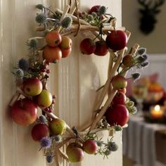 15 Amazing Fall Wreath Ideas For Autumn spirit (15)