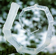 Ice  Sculpture by Andy Goldsworthy