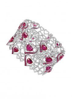 Chopard Bracelet AN ENAMOURING RUBY AND DIAMOND BRACELET