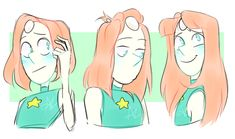some quick pearls with varied hair lengths and styles (via jeelibeeli on tumblr)