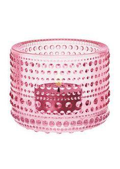 Kodin1 - IITTALA Kastehelmi kynttilälyhty vaalea pinkki | Lyhdyt ja kynttilät