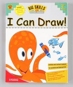Take a look at this Big Skills for Little Hands: I Can Draw! Paperback by Back to School: Educational Tools on #zulily today!
