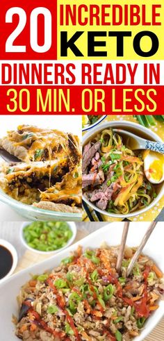 These keto dinners are super quick! Have a hot low carb meal ready in 30 minute… These keto dinners are super quick! Have a hot low carb meal ready in 30 minute… – Ketogenic Diet Meal Plan, Diet Plan Menu, Keto Meal Plan, Ketogenic Recipes, Diet Recipes, Slimfast Recipes, Ramen Recipes, Steak Recipes, Turkey Recipes