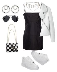 """Untitled #43"" by snackingondior ❤ liked on Polyvore featuring NIKE, Givenchy and Alexander Wang"