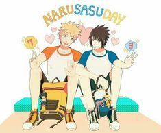 Its Narusasu day for me everyday Naruto Vs Sasuke, Gaara, Naruto Shippuden, Naruto Cute, Anime Naruto, Sasunaru, Narusaku, Yaoi Hard, Naruto Couples