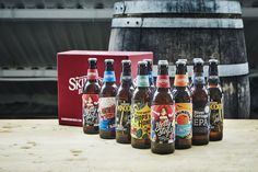 Skinner's Brewery collaborates with artists for craft branding