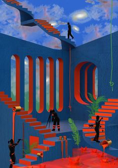 The Discovery Of Self With Tishk Barzanji Gestalten - The Discovery Of Self With Tishk Barzanji Explore The Story Behind The Ghostly Beauty Of Marginalized Communities Escape Visual Culture To Belong Nowhere Is A Blessing Says Lond Classification Des Arts, Escher Kunst, Futuristic Art, Futuristic Interior, Drip Painting, Surreal Art, Art And Illustration, Aesthetic Art, Oeuvre D'art