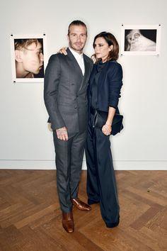 David and Victoria Beckham - Inside Brooklyn Beckham's Exhibition Launch - June 2017