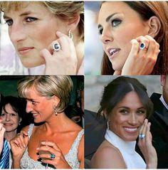 Beautiful ladies Meghan, Kate and Princess Diana! #Royal