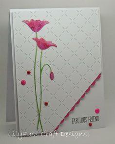 MB Prim Poppy die - make a great sympathy card