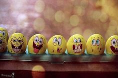 Cartoon Easter Egg Designs!