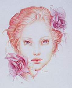 Jennifer Healy | Colored Pencils