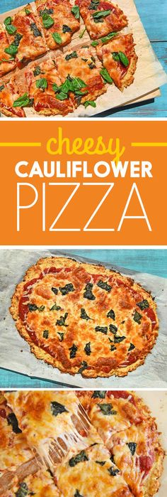 Here's How To Make A Cheesy Cauliflower Pizza That's Actually Delicious